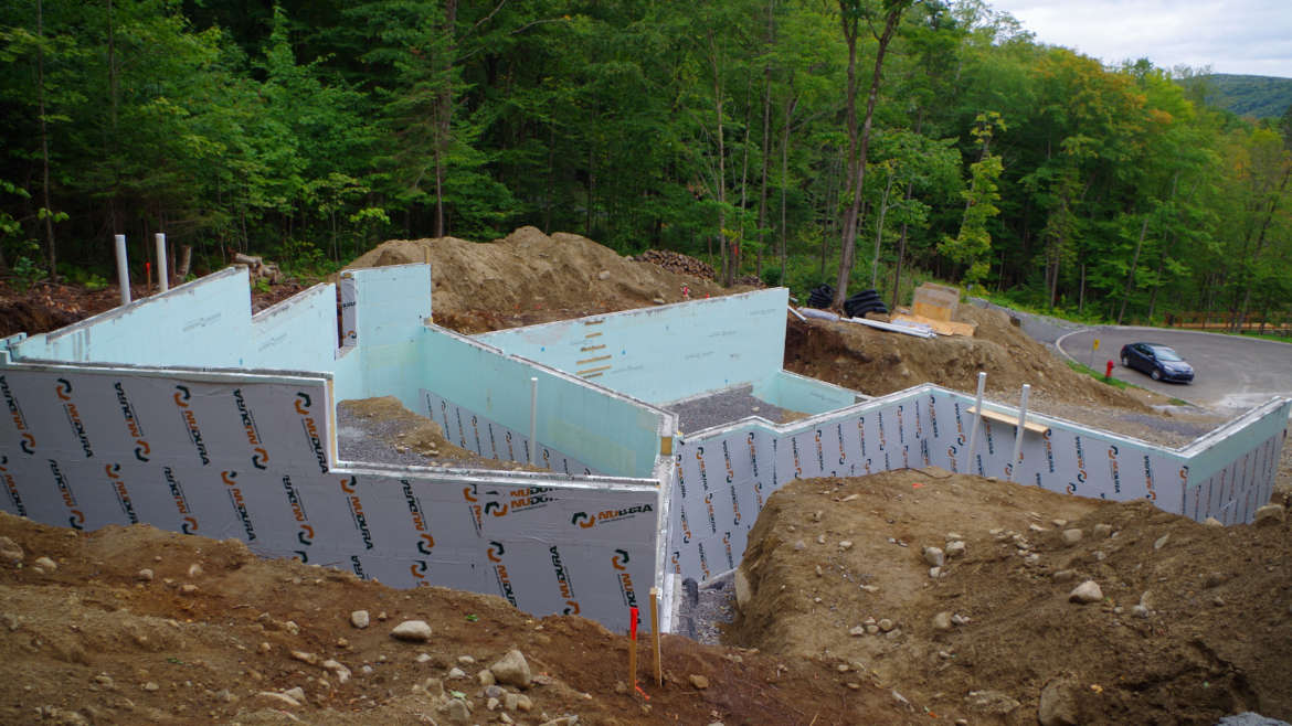 4 – Insulated Concrete forms